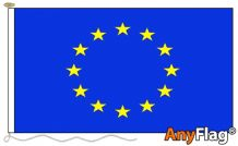 -EUROPEAN UNION REFLEX BLUE  ANYFLAG RANGE - VARIOUS SIZES
